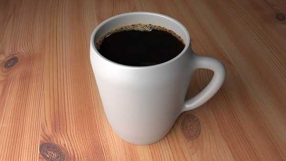 Cup Of Coffee. Image from Pixabay user NeuPaddy.