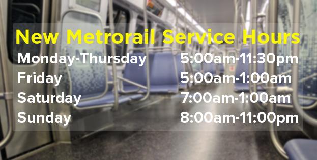 New Metro Hours 062517